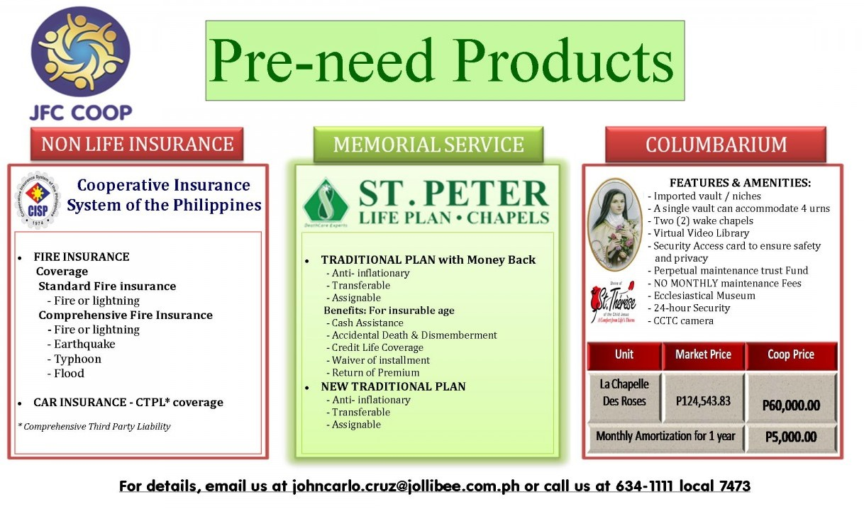 Pre need ADS profiling June 2015 2